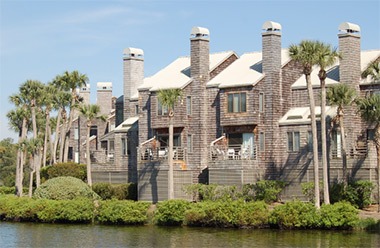 villas on Kiawah Island in South Carolina