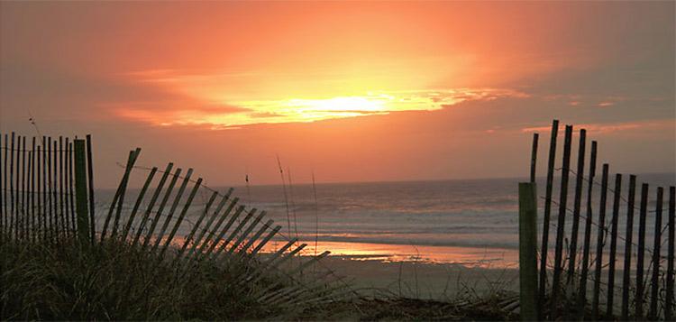 a Kiawah Island sunrise