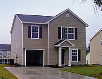 a Pulte home in Summerville, SC's The Woodlands neighborhood