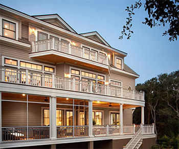 home by Johns Island, SC's Dolphin Arhitects and Builders