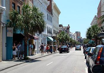 dowtown Charleston, South Carolina