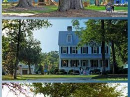 A home and scenery in The Ponds in Summerville, SC. The Charleston New Homes Tour